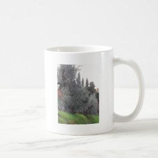 Autumn countryside with olive trees Tuscany, Italy Coffee Mug