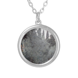 Autumn countryside with olive trees Tuscany, Italy Silver Plated Necklace