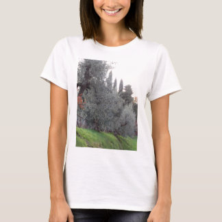 Autumn countryside with olive trees Tuscany, Italy T-Shirt