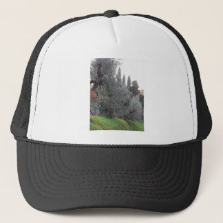 Autumn countryside with olive trees Tuscany, Italy Trucker Hat