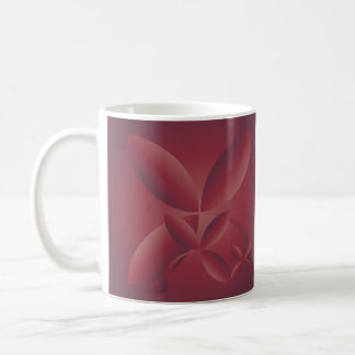 autumn crimson coffee mug