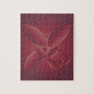 autumn crimson jigsaw puzzle