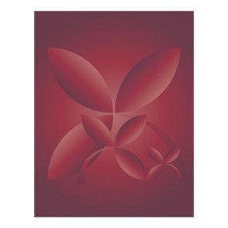 autumn crimson letterhead