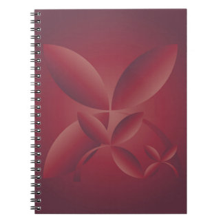 autumn crimson notebooks