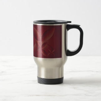 autumn crimson travel mug