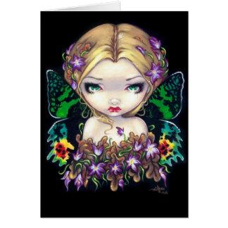 """Autumn Crocus Fairy"" Greeting Card"