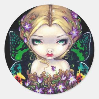 """Autumn Crocus Fairy"" Sticker"