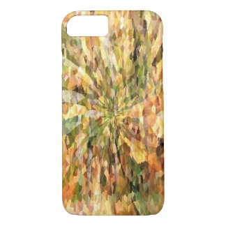 Autumn Crystal Mosaic Abstract iPhone 7 Cases