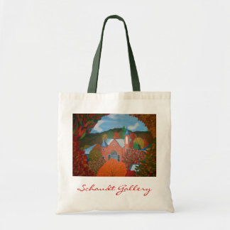Autumn Curtain Tote Bag