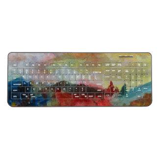 Autumn Custom Wireless Keyboard