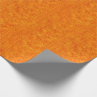 Autumn Damask Orange