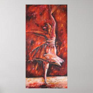 Autumn Dancer - Canvas Print