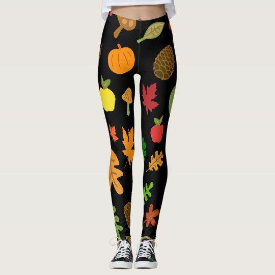 Autumn Design Leggings