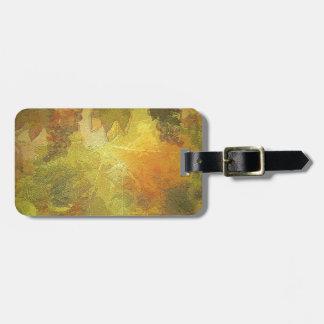 Autumn Design Luggage Tag