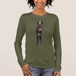 AUTUMN DONKEY & PLAID OWL LONG SLEEVE T-Shirt