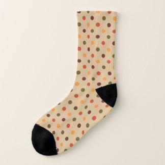 Autumn Dots Socks 1