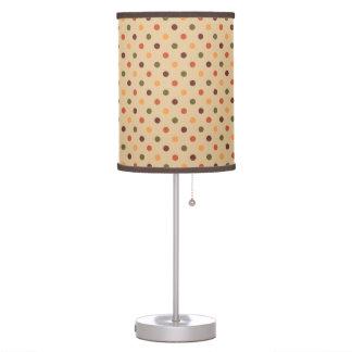 Autumn Dots Table Lamp