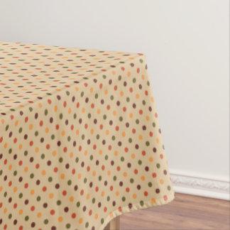 Autumn Dots Tablecloth