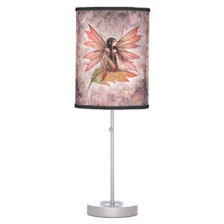 Autumn Drifting Fairy Fantasy Art Table Lamp