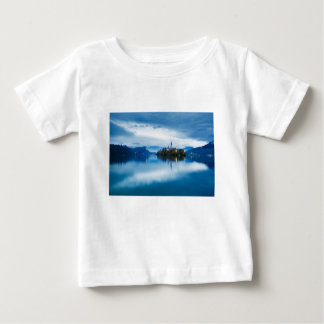 Autumn dusk at Lake Bled Baby T-Shirt