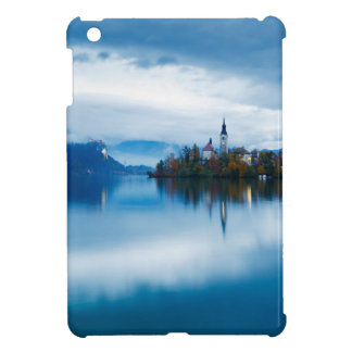 Autumn dusk at Lake Bled iPad Mini Cases