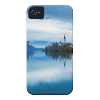 Autumn dusk at Lake Bled iPhone 4 Case-Mate Case