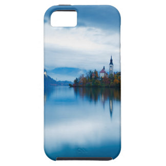 Autumn dusk at Lake Bled iPhone 5 Covers