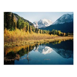 Autumn Eagle River Valley Postcard
