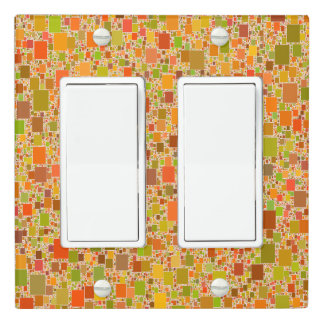 Autumn Echo Tiled Design Light Switch Cover