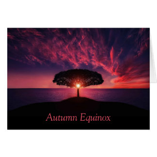Autumn Equinox Card