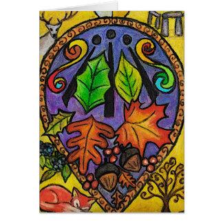 Autumn Equinox / Mabon / Alban Elfed Card