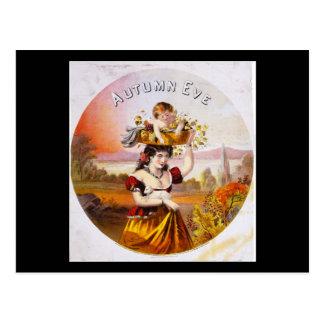 Autumn Eve tobacco Postcard