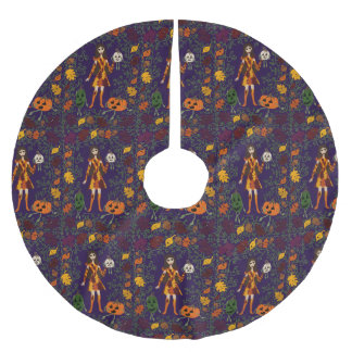 Autumn Faerie Brushed Polyester Tree Skirt