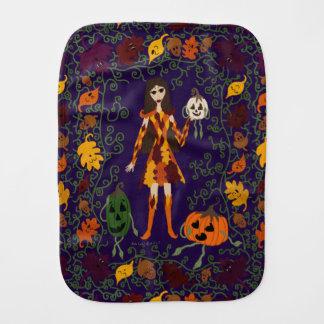 Autumn Faerie Burp Cloth