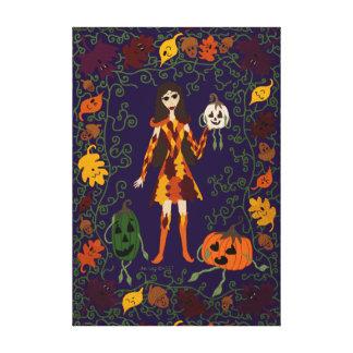 Autumn Faerie Canvas Print
