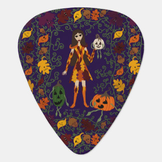 Autumn Faerie Guitar Pick