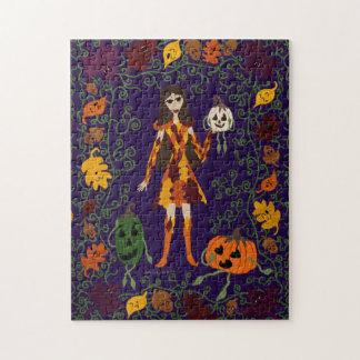 Autumn Faerie Jigsaw Puzzle