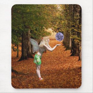 Autumn Faerie Mouse Pad