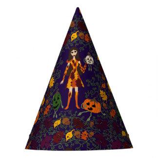 Autumn Faerie Party Hat