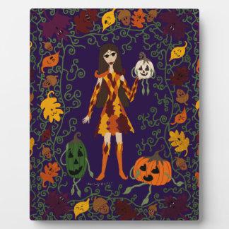 Autumn Faerie Plaque