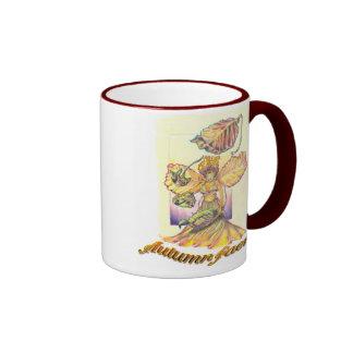 Autumn Faerie Ringer Mug