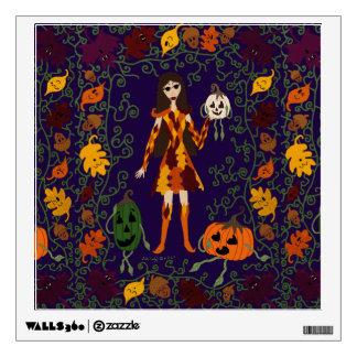 Autumn Faerie Wall Sticker