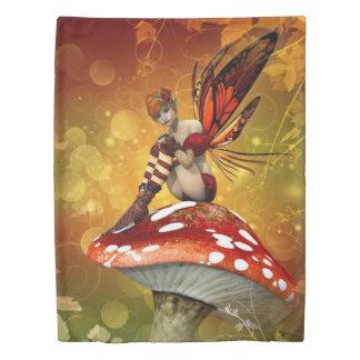 Autumn Fairy (1 side) Twin Duvet Cover