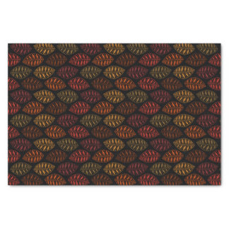 Autumn Fall Leaf Pattern Tissue Paper