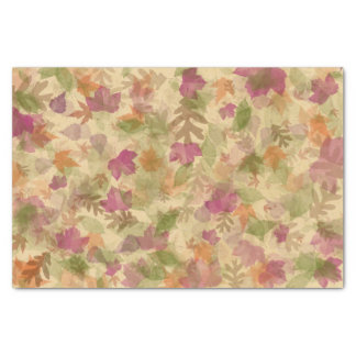 Autumn-Fall Leaves in Colour Tissue Paper