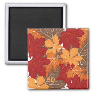 Autumn Fall Leaves Magnet