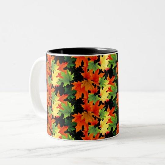 Autumn Fall Leaves Mug