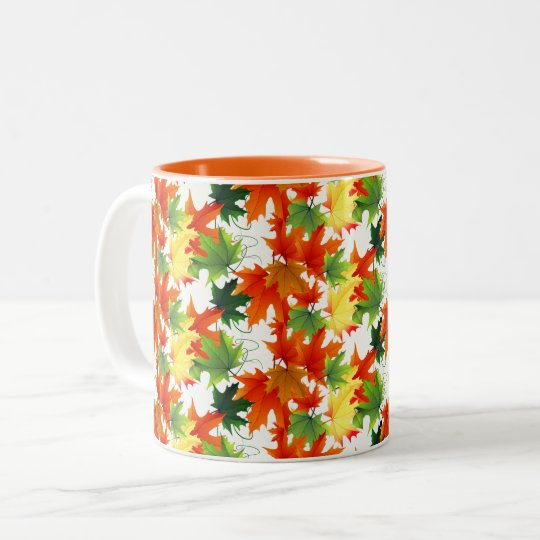 Autumn Fall Leaves Mug