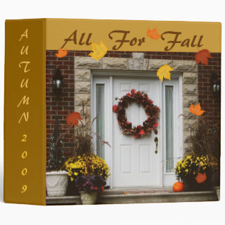 Autumn / Fall Memories Binder / Scrapbook