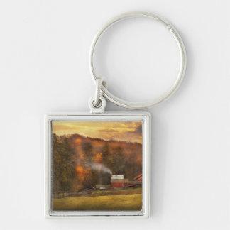 Autumn - Farm - Morristown NJ - Charming farming Keychain